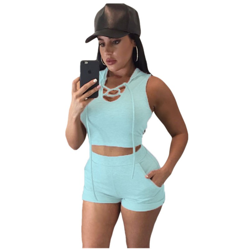 Light-Blue-Hooded-Crop-Top-and-Short-Set-LC62000-4