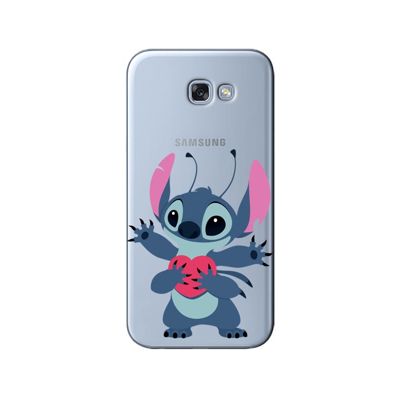 Phone Pouch Cute Cartoon Stich Coque Shell Soft Silicone Tpu Phone Case For Samsung Galaxy S6 S7 Edge S8 S9 Plus Note 9 Note 8 Phone Bags & Cases