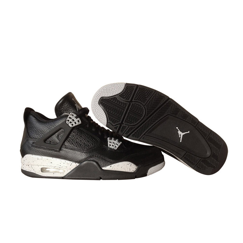 35dd87ab2570 Original New Arrival Authentic Nike Air Jordan 4 Oreo AJ4 Breathable Men s  Basketball Shoes Sports Sneakers Non slip-in Basketball Shoes from Sports  ...