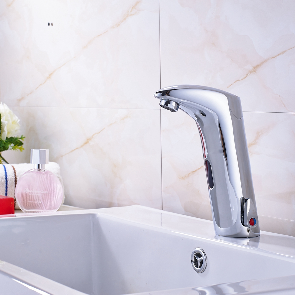 ₪Wholesale And Retail Promotion Tall Bathroom Sensor Faucet Mixer ...