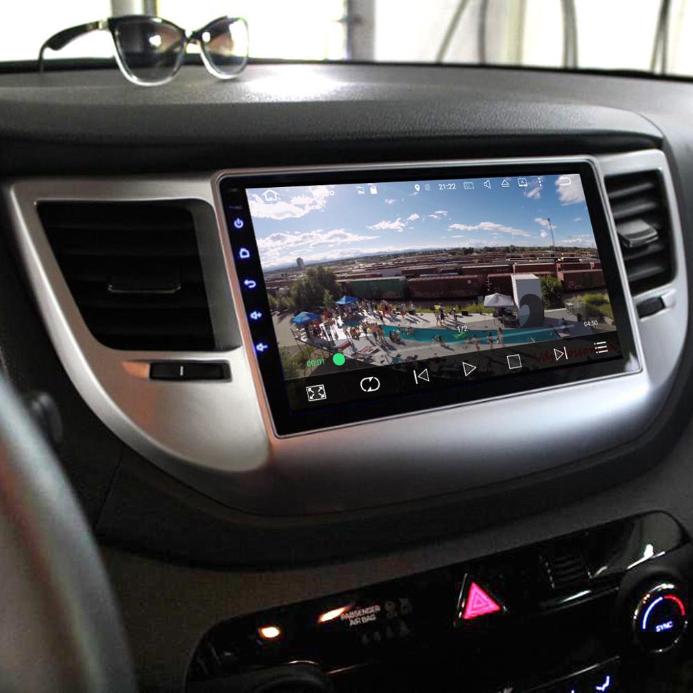 Dasaita 2din for Hyundai Tucson IX35 2016 2017 Android 8.0 IX35 autoradio navigation head unit multimedia 4Gb+32Gb PX5 8-Core farcar s160 hyundai ix35 на android m047