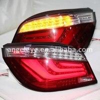 Для BMW E60 5 серии 520i 523i 525i 528i 530i светодиодные задние лампы 2003 по 2009 год красный, белый Цвет JX