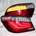 Para BMW E60 Série 5 520i 523i 525i 528i 530i LED Cauda Da Lâmpada 2003 a 2009 ano Red Cor Branco JX