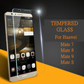 Tempered Glass For Huawei Mate 8 Mate 9 Mate S Mate 7 Mobile Phone High Quality Screen Protector HD Toughened Protective Film