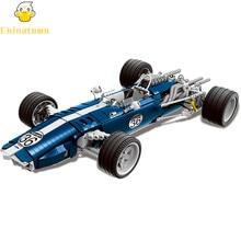XINGBAO Moc F1 Técnica Exclusiva Grand Prix Racer Car Racing Modelo Blocos de Construção Tijolos Crianças Brinquedos Marvel Compatível Legoings