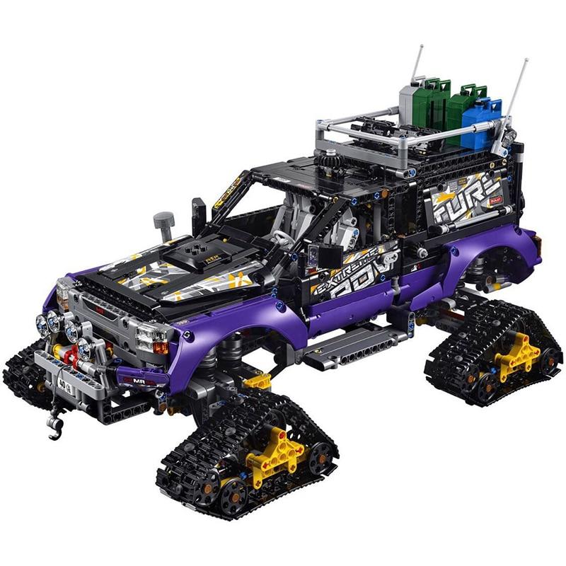 Compatible con lego Technic Model Building Blocks juguetes 20057 3372 - Juguetes de construcción - foto 2