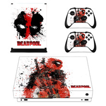Deadpool Skin Sticker For Xbox One X