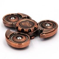 4 6 Minutes Metal Fidget Spinner Classic Stress Toys Eagle Retro Bronze Hand Spinner Gyro Finger