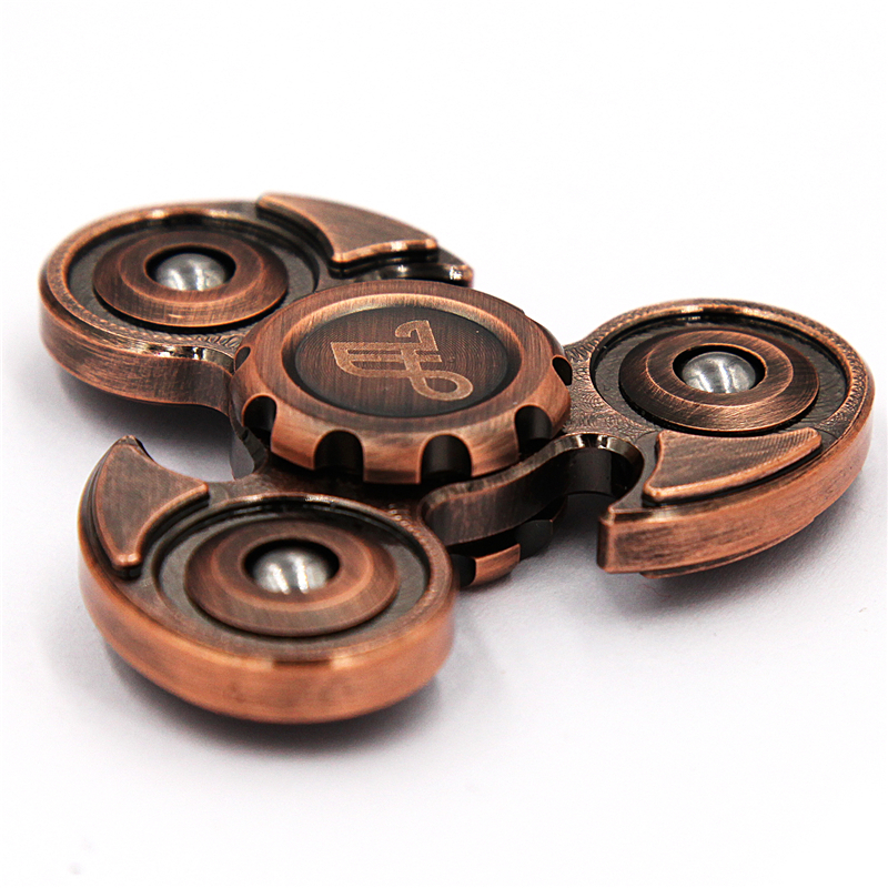 4-6 Minutes Metal Fidget Spinner Classic Stress Toys Eagle Retro Bronze Hand Spinner Gyro Finger Torqbar Brass EDC Adult Gifs spiner golden cupid snitch harry potter fans fidget spinner r188 metal finger spinner hand spiners anti relieve stress kids toys