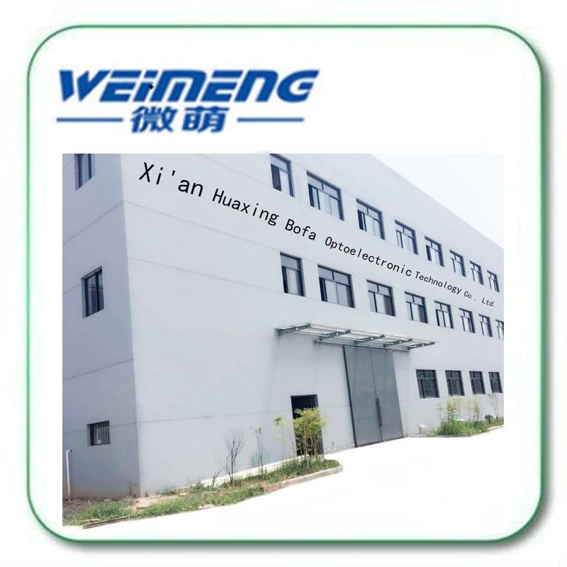 Suministro de fábrica de Weimeng 45 grados 30*5mm material de cuarzo 1064nm HR circular máquina de marcado láser lente reflector para óptica - 4