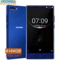 Amerikanischen Version Original DOOGEE MIX Smartphone Dual Kameras 5,5 Zoll MTK Helio P25 Octa Core 4 GB + 64 GB LTE Smartphone 3380 mAh