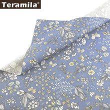 Teramila material de costura 100% algodão, material de costura floral scrapbook tecido têxtil tissu coton acolchoamento telas