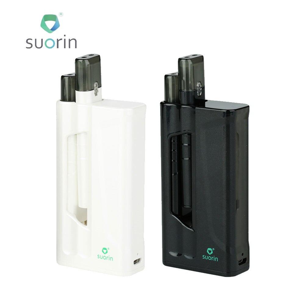 Originale Suorin IShare Starter Kit con 1400 mAh Power Bank & 0.9 ml Cartuccia e Disegnare Attivato Cottura di Progettazione E-cig Vape Kit