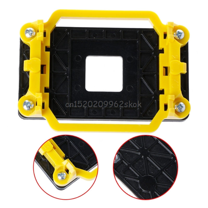 CPU Radiator Cooling Fan Base Holder Mainboard Bracket For AMD AM2/AM3/FM1/FM2/940 Jy23 19 Dropship image