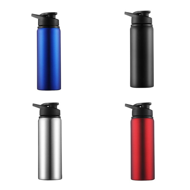 700ml Stainless Steel Bottle Cover Lid With Handle Anti Leakage Portable Drinking Mug School Outdoor Flask Sports Bottle