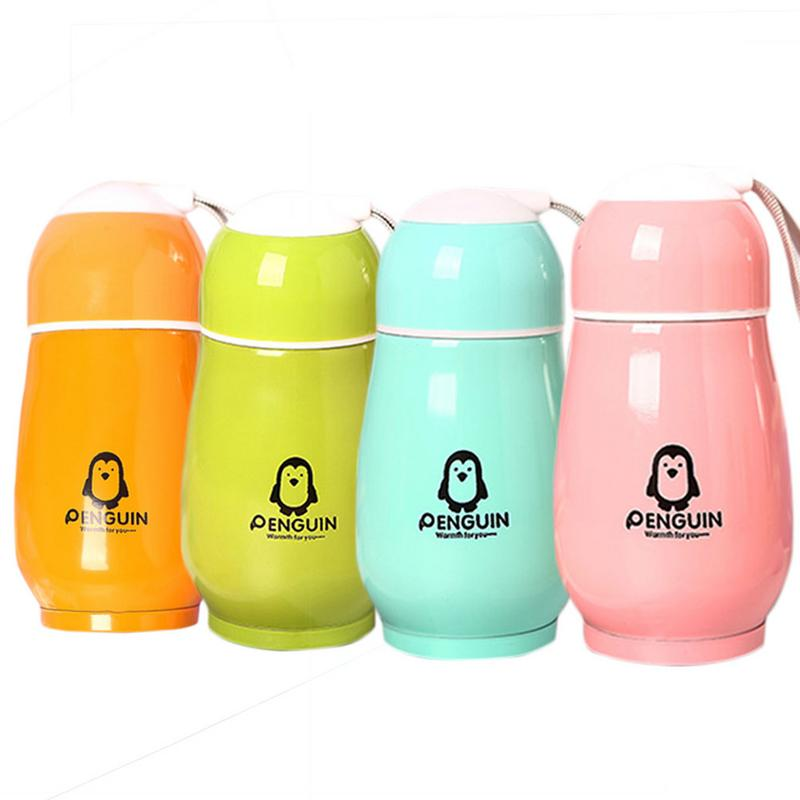 Thermo Cup Baby Bottle for Water Stainless Steel Baby Cup Thermos Bottle For Newborn Children Insulation Cup Термос