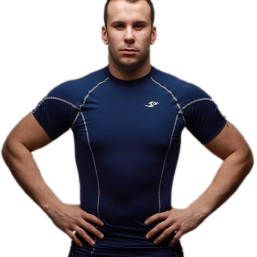 2015 neue Compression Base Layers Mens Casual T-Shirt Kurzhülse Skins Getriebe Thermal Top Tee M-XXL