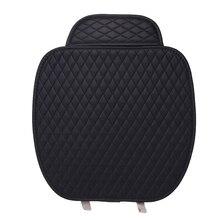 Almofada de assento de carro almofada de assento de carro frente traseira capa de assento de carro estilo quatro estações interior do carro capa de assento