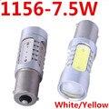 2X 1156 BA15S 7.5W Led Car p21w s25 Turn Signal Light Reverse Brake Backup Light Auto Bulb Lamp Xenon for peugeot 206Car Styling