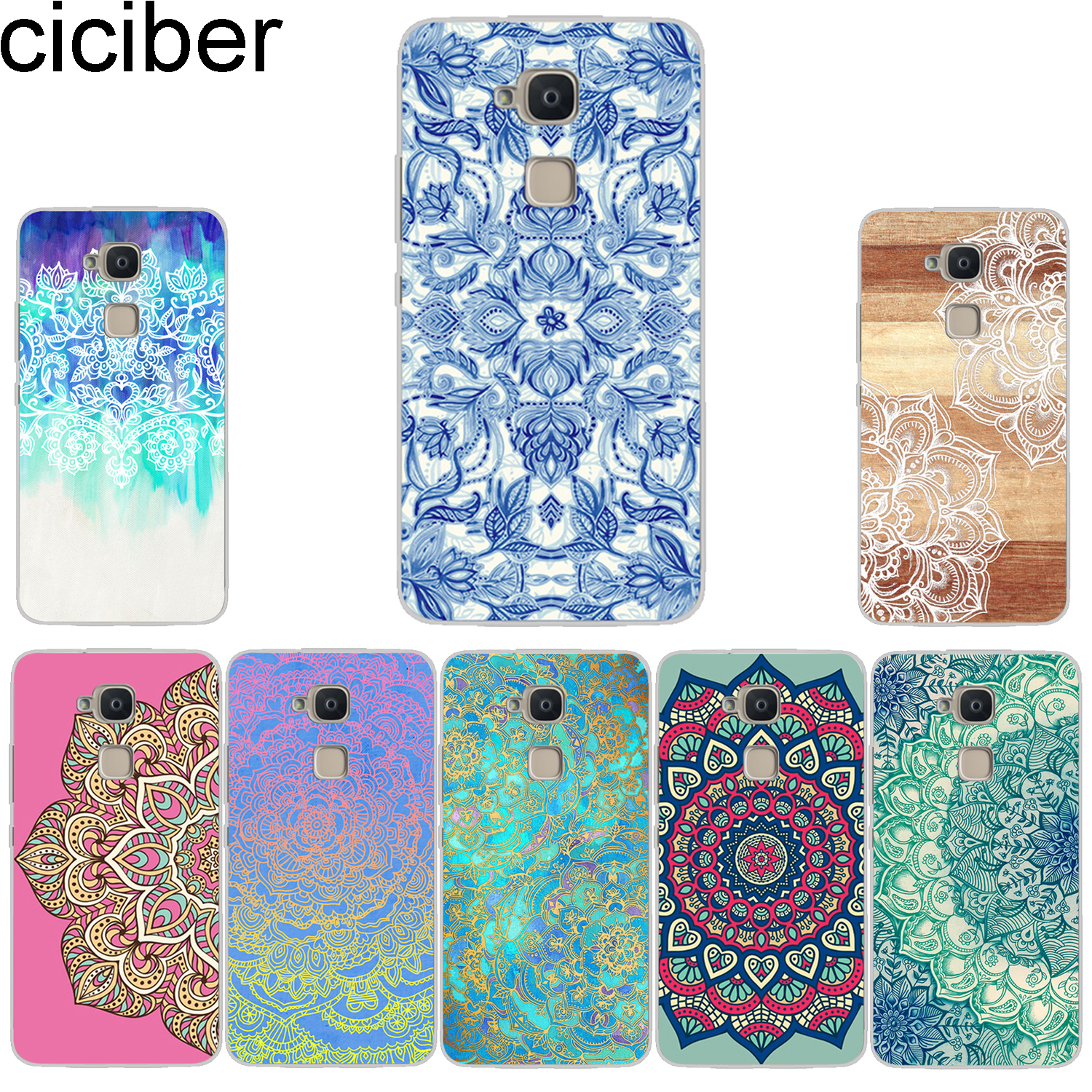 Buy ciciber Phone Case for BQ Aquaris X2 X Pro V VS U U2 Lite Plus Soft TPU Back Cover for Aquaris E5s 4.5 M5 M5.5 4.5 X5 Mandala for only 1.2 USD