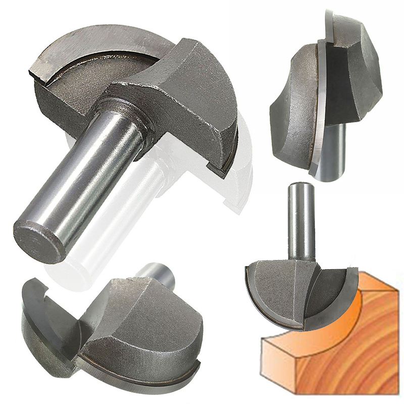1/2 Inch HSS Milling Bits Shank Round Nose Cove Core Box Router Bit Shaker Cutter Tools For Woodworking  цены