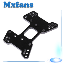 Mxfans 107023 RC 1 10 Car Upgrade Parts Black Carbon Fibre Rear Shock Tower for HSP