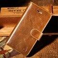 Musubo case de couro para apple iphone 7 plus 6 mais 6 s 5 5S se wallet saco do telefone tampa traseira fit suporte para carro magnética para samsung s7