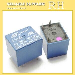 Image 4 - 50 ピース/ロットリレー SRD 03VDC SL C SRD 05VDC SL C SRD 06VDC SL C SRD 09VDC SL C 3 v 5 v 6 v 9 v 10A 250VAC 5PIN T73