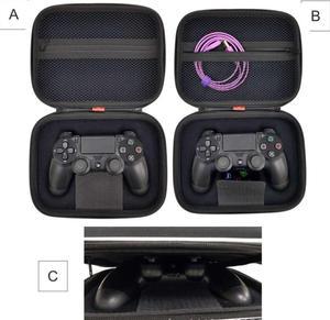 Image 2 - PS4 กันกระแทกกระเป๋าเดินทางกระเป๋าใส่ Controller สำหรับ Playstation 4 Slim Pro Controller Gamepad Shell Grip