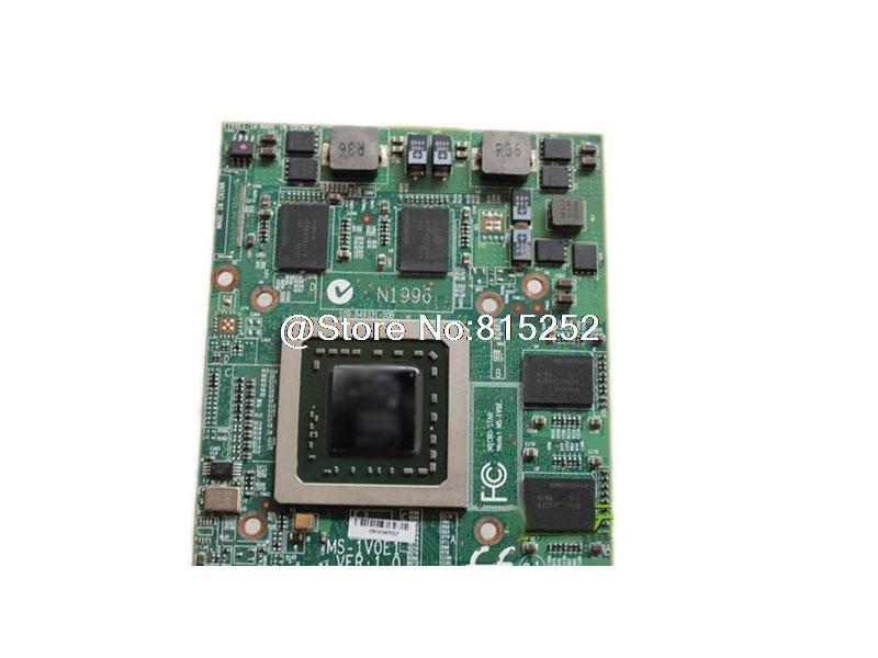 Original Graphics Card For MSI GT725 GT725X GT729 GT729X GX723 GX720 MS-1722 MS-1V0E1 M98 216-0732019 vg 86m06 006 gpu for acer aspire 6530g notebook pc graphics card ati hd3650 video card
