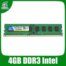 Dimm Ram ddr3 4gb ddr3 1600 1333 1066 compatible all Intel AMD Desktop 240pin Lifetime Warranty