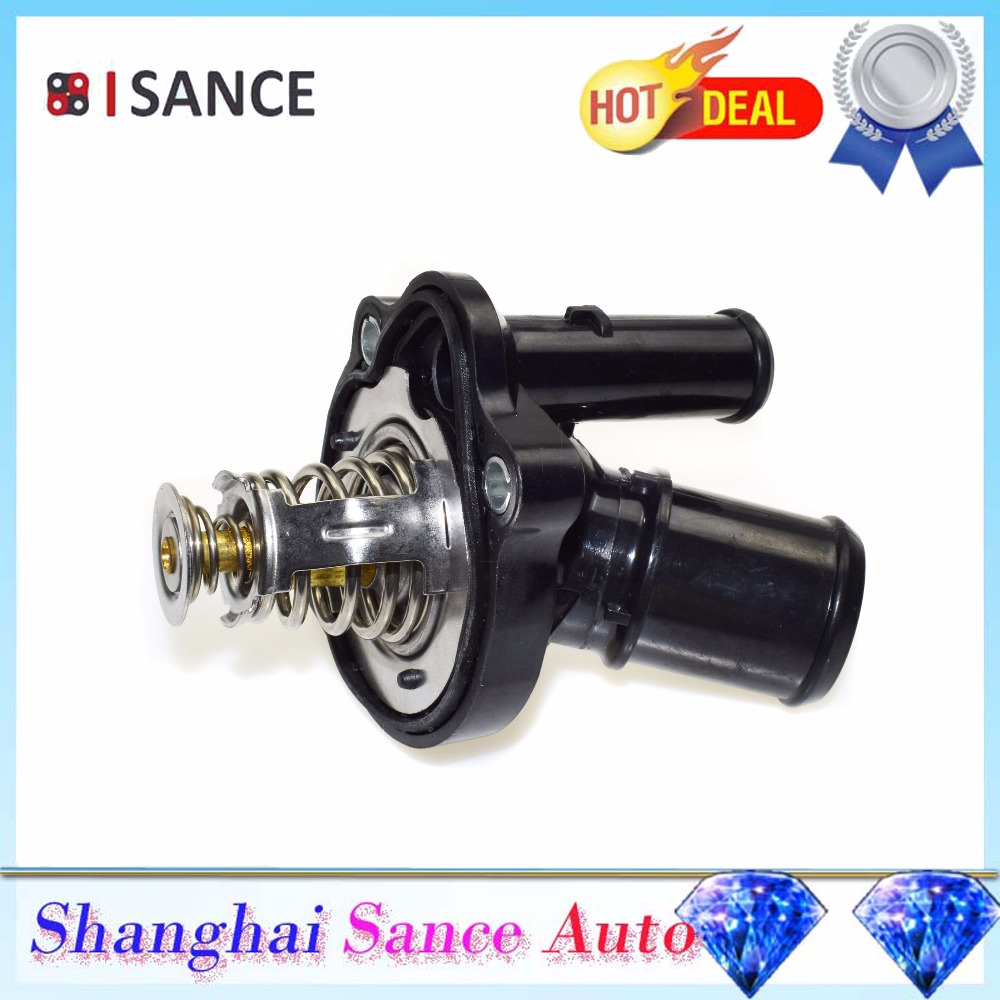 Ford Escape Cooling Thermostat Engine Coolant Isance Outlet For Focus Fusion Ranger Lincoln Mazda Mercury Mariner On