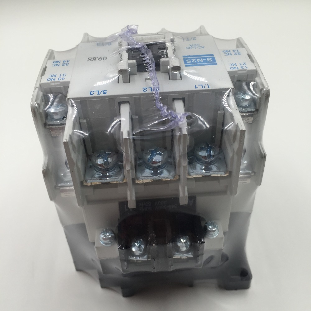 Image 1 - S N25 ac 24v/110V/220v/380V elevator magnetic contactor manufacture-in Contactors from Home Improvement