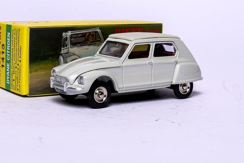 1:43 Atlas Dinky Toys 1413 DYANE CITROEN Alloy Diecast Car model & Brinquedos Modelo
