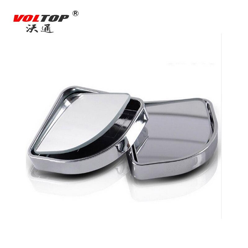 Voltop автомобиль слепое пятно Зеркала со стороны водителя заднего вида Парковка зеркало 360 градусов Широкий формат круглый Выпуклые зеркала ...