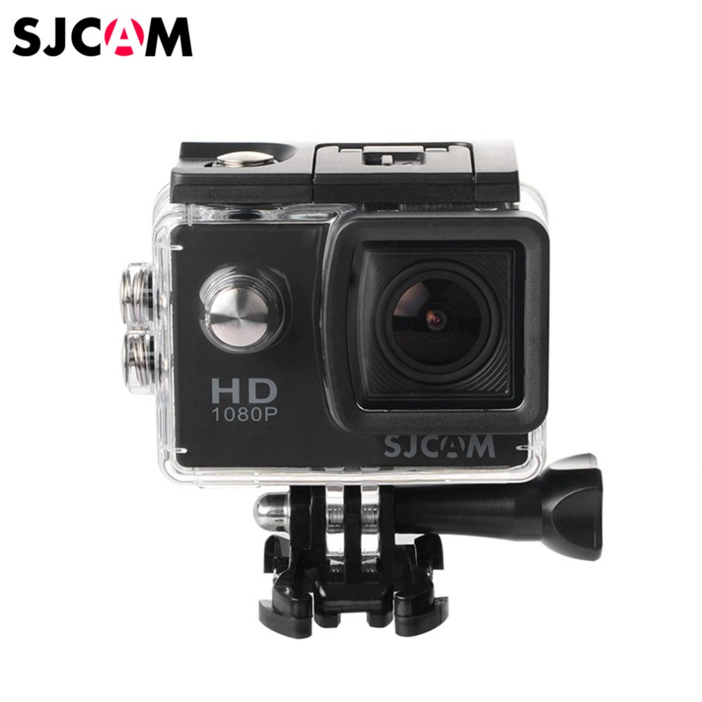 SJCAM SJ4000 Waterproof Sport Camera Full HD 1080P 12MP 2.0 inch LCD Diving Bicycle Action Camera 170 degree Wide Angle Lens sjcam m10 1 5 lcd 2 3 cmos 12mp 1080p wide angle sports camera w tf mini hdmi red black