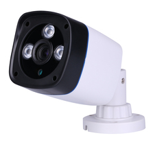 XMeye cámara IP impermeable de plástico ABS, 1MP/1,3mp/2MP, 3 potentes matriz de LED, P2P, cámara de red de visión de teléfono inteligente