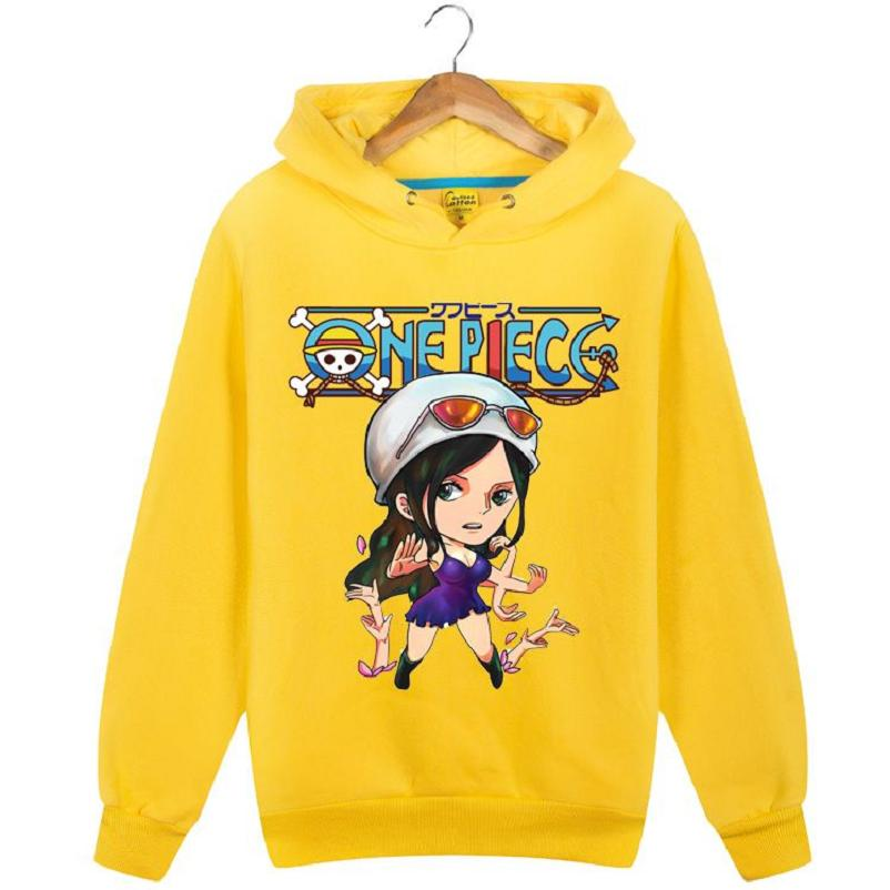 no Haute Coton Capuche 7 no3 À Shirts Lâche no6 Unisexe no4 Cartoon no2 no5 Sweat No1 One Piece q Top BqBUprf