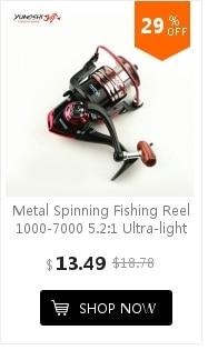 5.2: 1 Metal Esquerda Direita Handle Pesca Spinning Reel