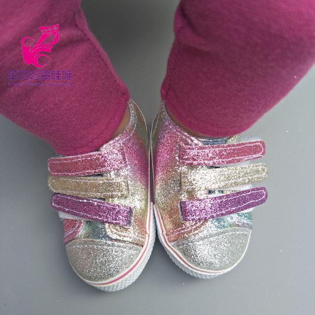 Zapatillas para muñecas de 45cm