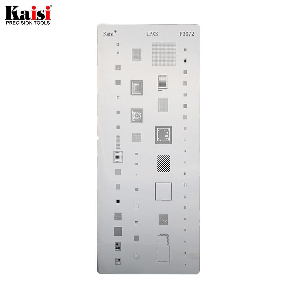 Hot 19pcs/lot IC Chip BGA Reballing Stencil Kits Set Solder template for iphone XS MAX XR 8p 7 6s 6 plus SE 5S 5C 5 4S 4 iPad