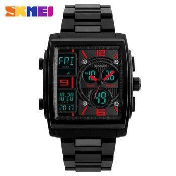 Sports Watches Men Top Brand Luxury SKMEI Military Watch Clock Male LED Digital Quartz Wrist Watch Man reloj hombre 2018