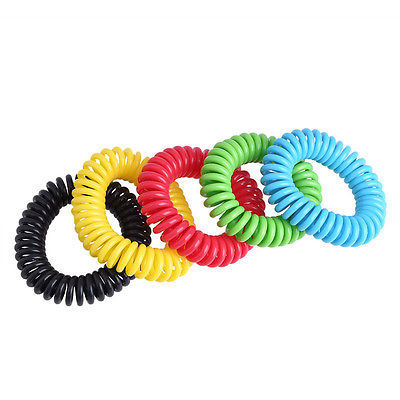 Helen115 Anti Mosquito Insect Repellent Wrist Hair Band Bracelet Camping Outdoor 1pcs 4