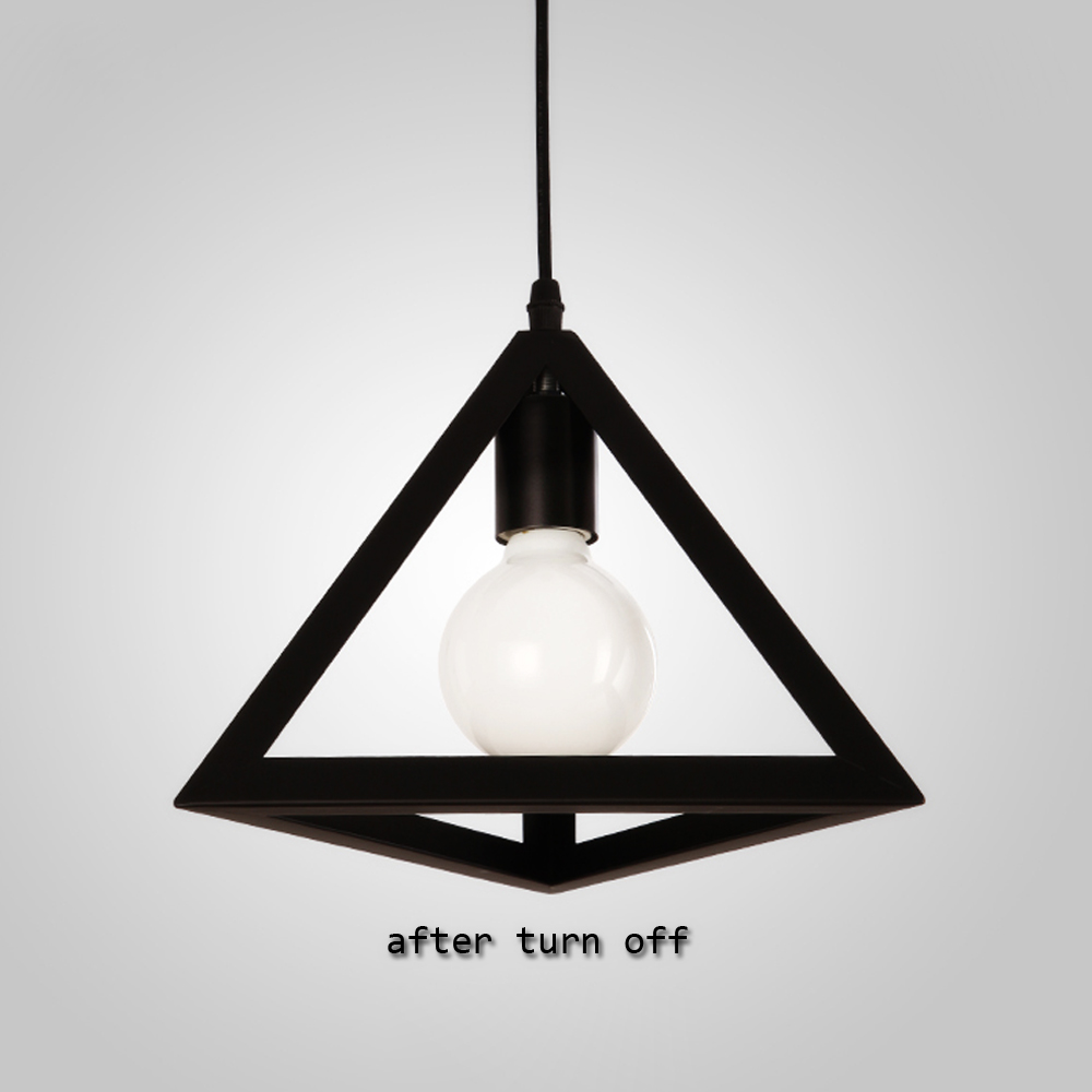 Vintage Industrial Retro Pendant Lamp Loft E27 Edison Lights Holder ...