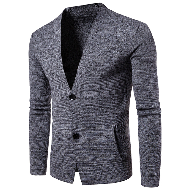 Hot Spring Autumn New Fashion Mens Cardigan Sweaters Casual Coat Thin  Knitwear Coat Men Clothing Korean 122b294b7