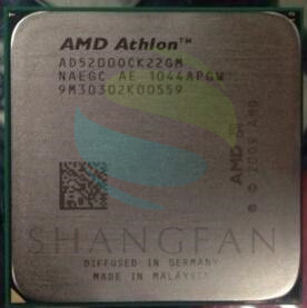 AMD Athlon X2 5200 AD5200 2.3 GHz dual-core CPU Processeur AD5200OCK22GM Socket AM3
