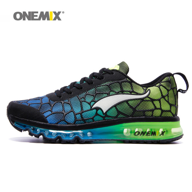 Onemix Men's Running Shoes Breathable Zapatillas Hombre Outdoor Sport Sneakers Lightweigh Walking Shoes Plus Size 39-47 Sneakers