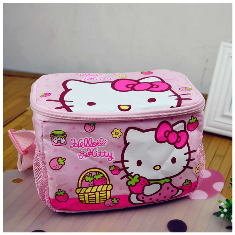 Hello Kitty Lunch Bags For Women Kids Tote Bagskids Lunch Bag For School  Bears Picnic Pack 167262bf55741