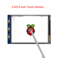 2.4 inch 2.8 inch Raspberry Pi 3 Model B+ Touch Screen 320*240 LCD Display Module for All Version Raspberry Pi