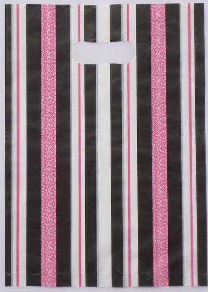 Hot-selling 100pcs/lot 30*40cm Pretty stripe Pattern Plastic Gift <font><b>Bag</b></font> <font><b>Shopping</b></font> <font><b>Bag</b></font> Wholesale Lot free shipping 015040070
